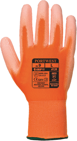 Portwest PU Palm Glove (A120) (Pack of 10)
