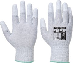 Portwest Antistatic PU Fingertip Glove (A198)