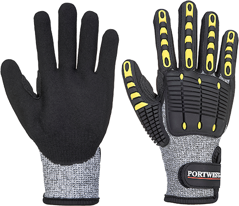 Portwest Anti Impact Cut Resistant Glove (A722)