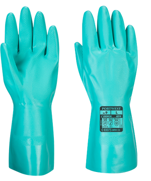 Portwest Nitrosafe Chemical Gauntlet - Nitrile (A810)