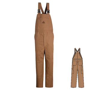 Bulwark Duck Unlined Bib Overall - Cat 2 - (BLF8)