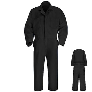 Red Kap Twill Action Back Coverall - CT10