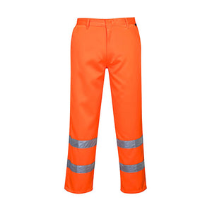 Portwest Hi-Vis Polycotton Pants (E041)