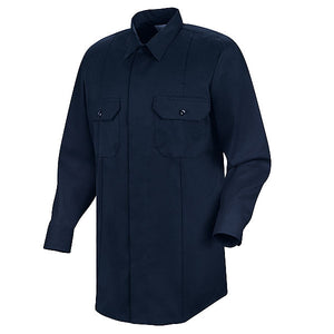 Horace Small First Call Concealed Button-Front Long Sleeve Shirt (HS1429)