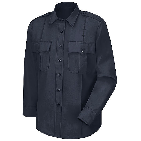 Horace Small Men's New Dimension Poplin Uniform Long Sleeve Shirt (HS1112)