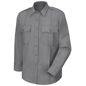 Horace Small Men's Stretch Poplin Uniform Long Sleeve Shirt (HS1113)