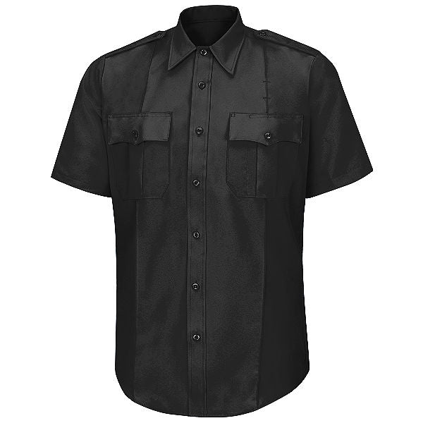 Horace Small Men's Sentry Short Sleeve Shirt With Zipper (HS1230)