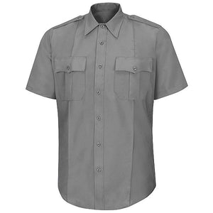 Horace Small Men's Stretch Poplin Short Sleeve Uniform Shirt (HS1209)