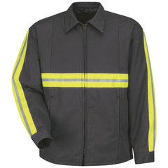 Red Kap Enhanced Visibility Perma-lined Panel Jacket - JT50EC