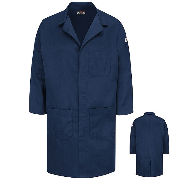 Bulwark Concealed Snap Front Lab Coat - Cat 2 - (KLL6)