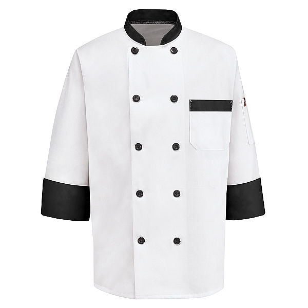 Red Kap Garnish Chef Coat - KT74BT