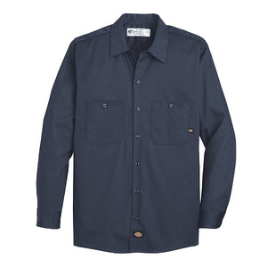 Dickies L/S Industrial Cotton Work Shirt (L307/LL307)