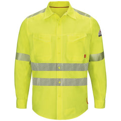 Bulwark Iq Series Endurance Hi-Vis Work Shirt Cat 2 (QS40HV)