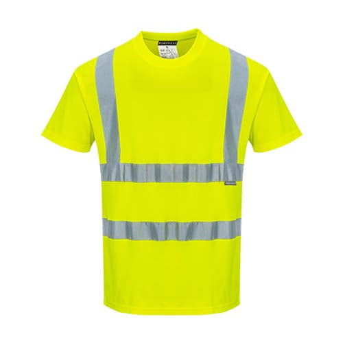 Portwest Cotton Comfort Short Sleeved T-Shirt (S170)