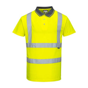 Portwest Hi-Vis Short Sleeve Polo (S477)