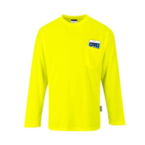 Portwest Non ANSI Pocket Long Sleeve T-Shirt (S579)
