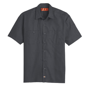 Dickies Solid Ripstop Short Sleeve Shirt (S608/LS608)