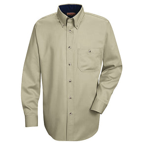 Red Kap Men's Cotton Dress Shirt - SC74