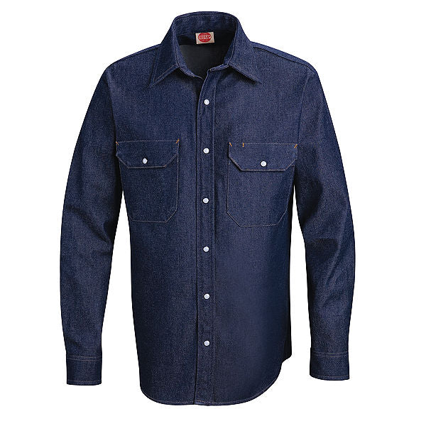 Red Kap Deluxe Denim Shirt - SD78