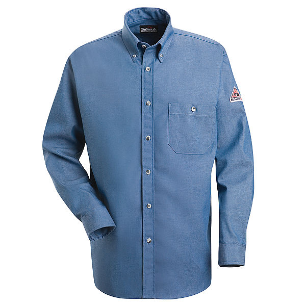 Bulwark Denim Dress Shirt - Excel Fr - 7 Oz. - Cat 2 - (SEG2)