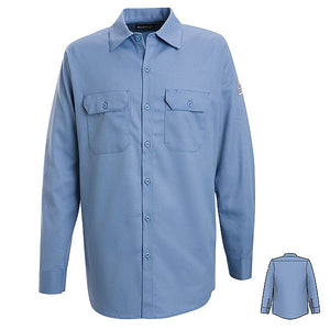 Bulwark Button-Front Work Shirt - Cat 2 - (SLW2)