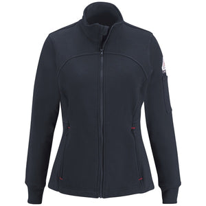 Bulwark Female Zip Front Fleece Jacket-Cotton/Spandex Blend - Cat 2 - (SEZ3)