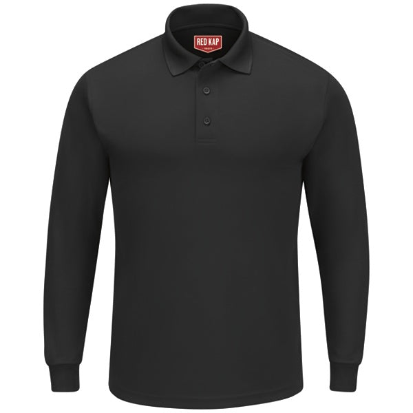 Red Kap Men's Long Sleeve Solid Performance Polo - SK6L