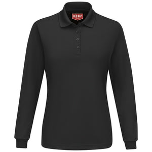 Red Kap Women's Long Sleeve Performance Polo - SK7L