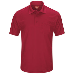 Red Kap Performance Knit Men's Pocket Polo – SK98 (2nd color)
