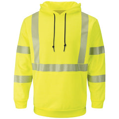Bulwark Hi-Vis Pullover Hooded Fleece Sweatshirt - Cat 2 - (SMH4)