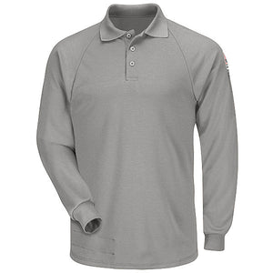 Bulwark Long Sleeve Classic Polo - Cat 2 - (SMP2)