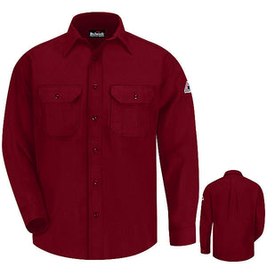 Bulwark Button-Front Deluxe Shirt - Cat 1 - (SND6)