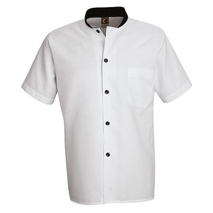 Red Kap Black Trim Cook Shirt - SP04
