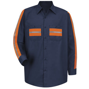 Red Kap Enhanced Visibility Shirt - SP14ON