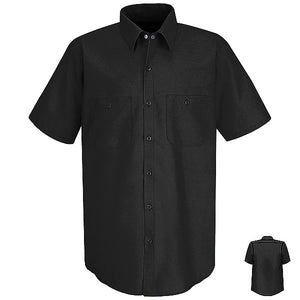 Red Kap Short Sleeve Industrial Solid Work Shirt - SP24