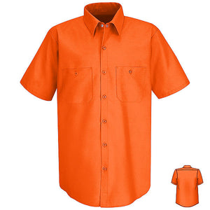 Red Kap Short Sleeve Industrial Solid Work Shirt - SP24 (4th color)