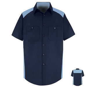Red Kap MENS SS MOTORSPORTS SHIRT - SP28