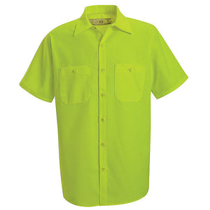 Red Kap Short Sleeve Enahanced Visibility Work Shirt - SS24
