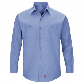 Red Kap Men's MIMIX Long Sleeve Work Shirt (SX10)