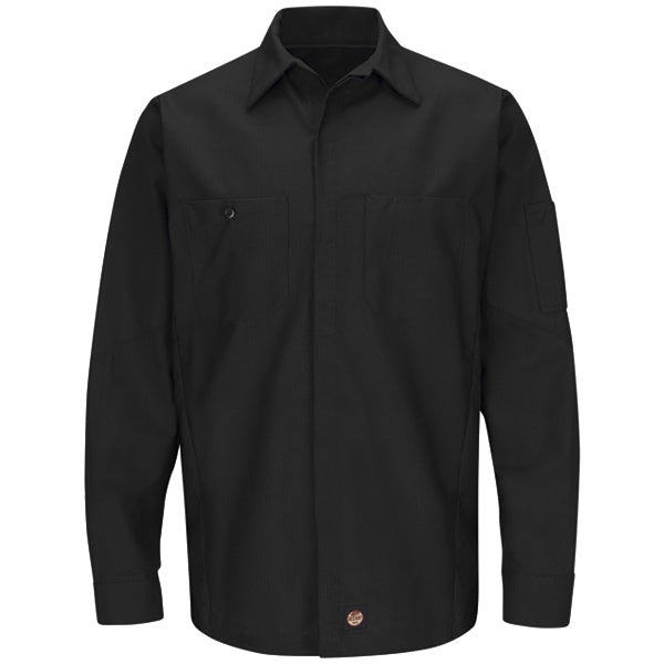 Red Kap Long Sleeve Solid Crew Shirt - SY10