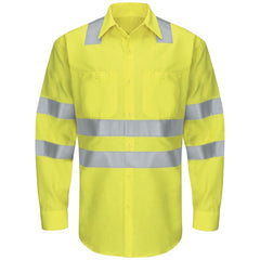 Red Kap Hi-Visibility Ripstop Work Shirt - Type R, Class 3 -(SY14AB)