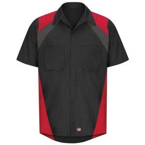 Red Kap Short Sleeve Tricolor Shirt - SY28