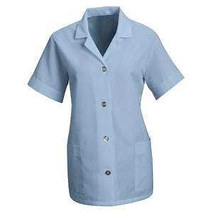 Red Kap Women's Loose Fit Button Smock - Short Sleeve - TP23