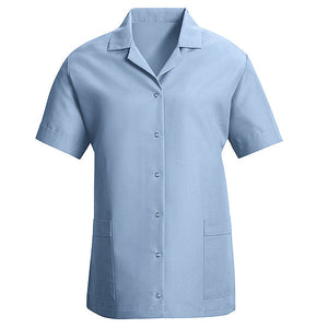 Red Kap Women's Loose Fit Gripper Smock - Short Sleeve - TP27