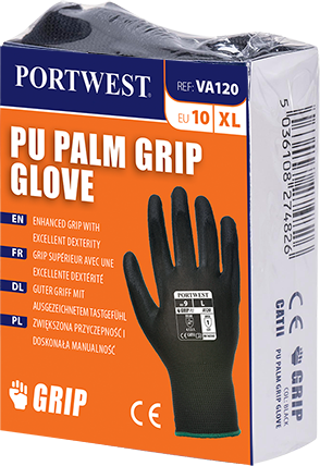 Portwest Vending PU Palm Glove (VA120) (Pack of 10)