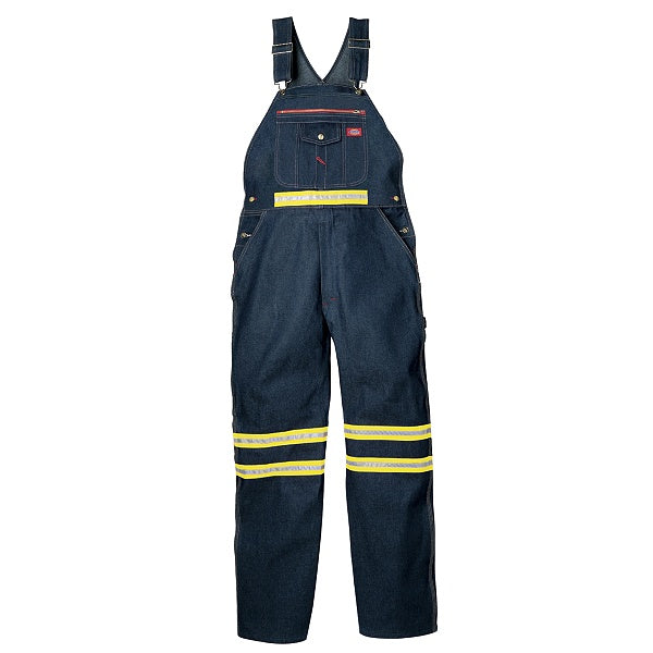 Dickies Bib Overalls With Yellow Tape - Non Ansi (VB55/VB505)