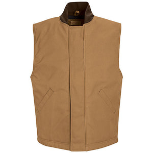 Red Kap Snap-Front Duck Vest - 65/35 Poly/Cotton Duck - VD22