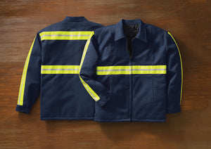 Red Kap Enhanced Visibility Perma-Lined Jacket - JT50