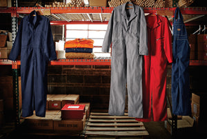 Red Kap Zip-Front Cotton Coverall - CC18