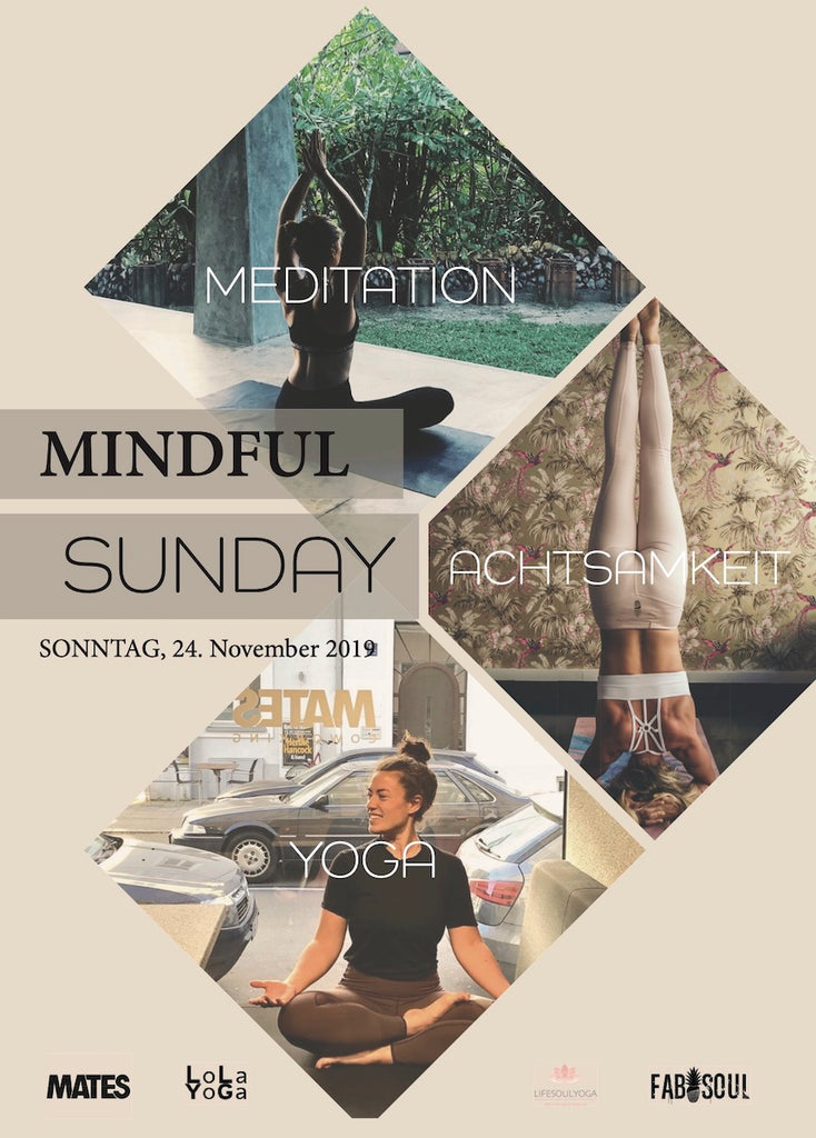 mindful sunday event München yoga meditation